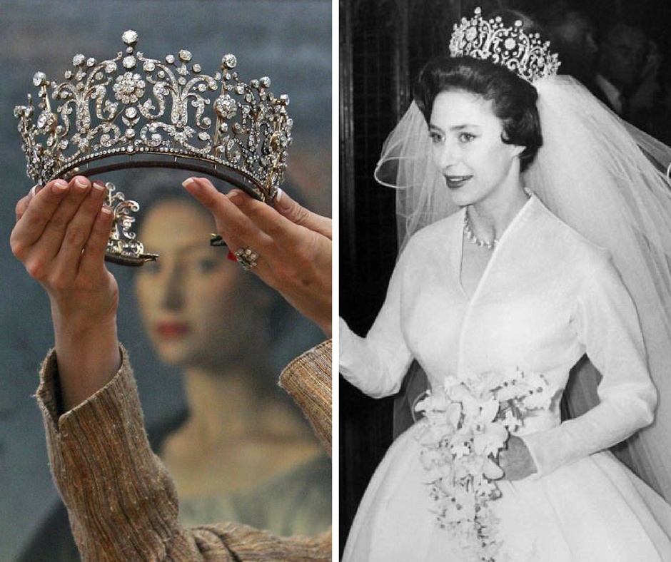 Tiara Poltimore e Princesa Margarete