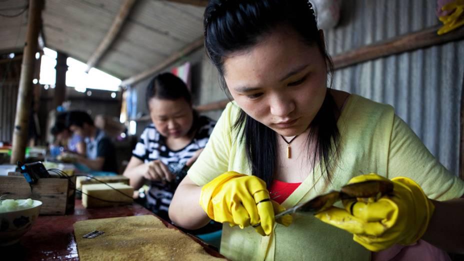 fabricação de pérolas