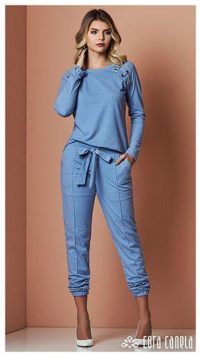 Conjunto jeans casual