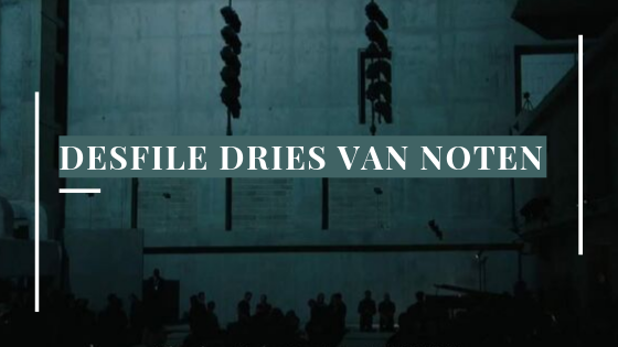banner desfile dries van noten paris verão 2020