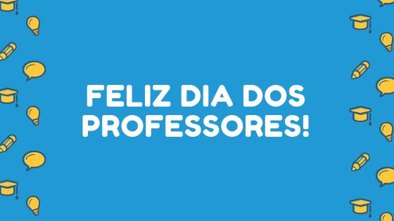 Banner Feliz dos Professores